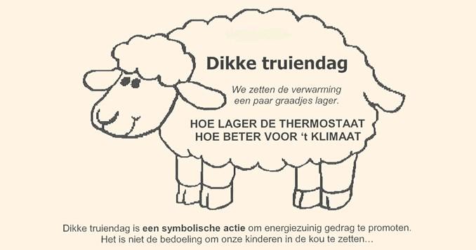 Klimaat Actie : dikke trui